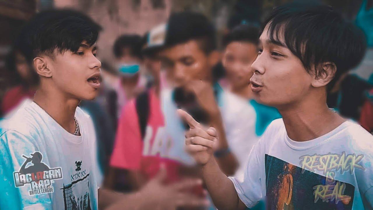 Laglagan Rap Battle League - J-Hustla Vs Ley ( REST BACK IS REAL )