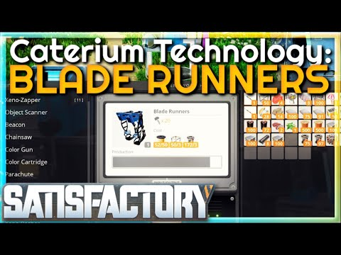 Caterium Technology: Blade Runners  |  (Early Access) #39