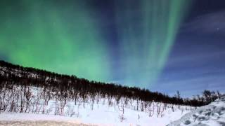 Into the dark kingdom 2: The queen of the night. Aurora borealis (northern lights)