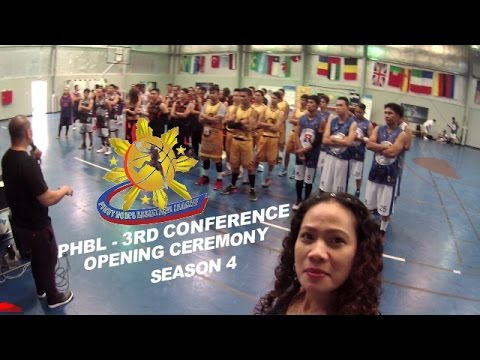 PHBL OPENING CEREMONY + NAG EMCEE SA PA LIGA NI MAYOR || Kris Curly Vlog#5