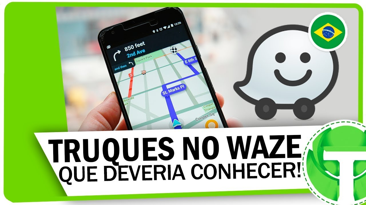 Como usar links diretos no Waze