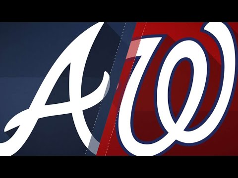 Suzuki powers Braves to win: 4/11/18