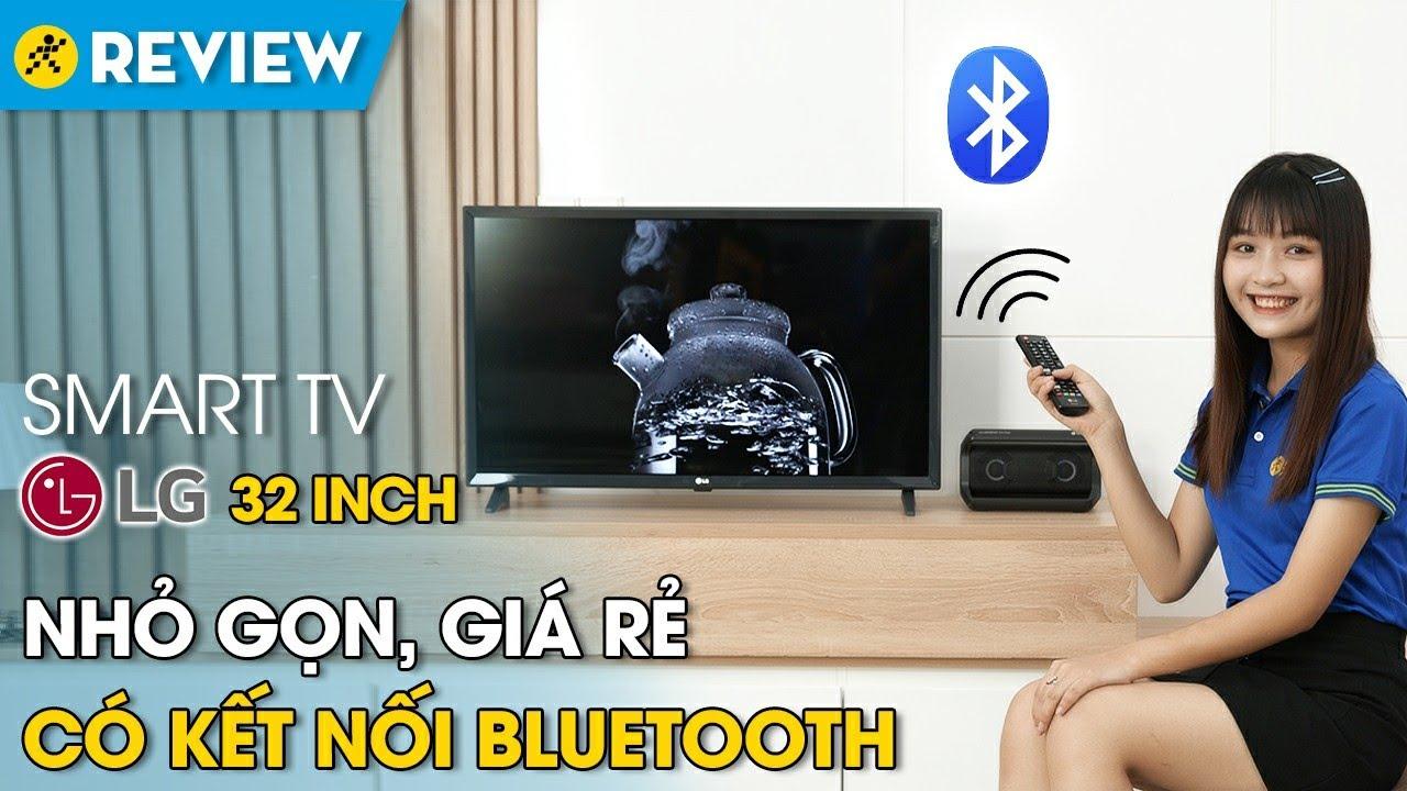 Smart tivi LG 32 inch: nhỏ gọn, giá rẻ, có bluetooth (32LM570BPTC) • Điện máy XANH