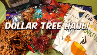 Dollar Tree Haul | New Finds | October 2, 2018