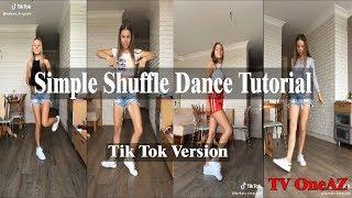 Simple Shuffle Dance Tutorial | Tiktok shuffle dance | Legs movement dance