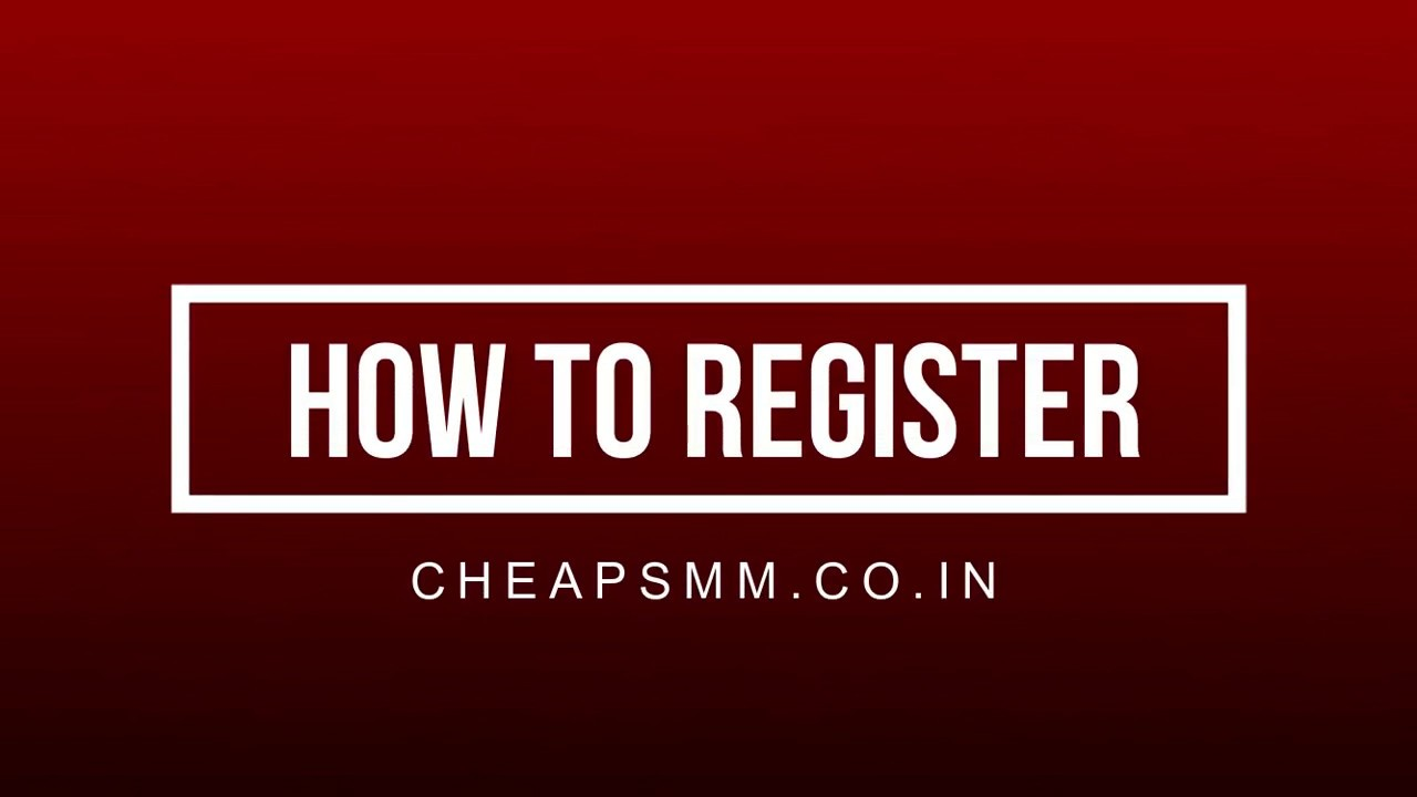 HOW TO REGISTER ON cheapsmm co in | no-1 smm reeller panel | smm panel  india | cheapest panel
