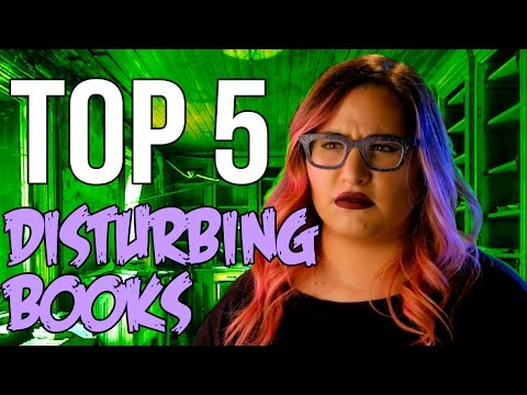 TOP 5 CRAZY BOOKS That Are Weird and Gruesome // Dark 5 | Snarled