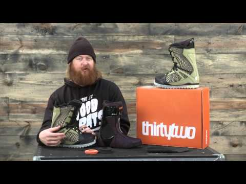 2016 Thirty Two Tm-Two Snowboard Boot Review: The-House.com