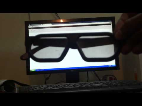 Effect of RealD 3d glasses on LCD