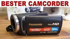 Bester Camcorder für Hobbyfilmer - Panasconic HC - V180