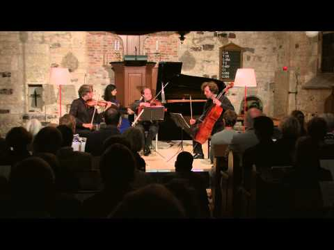 Brahms:  'Andante' from Piano Quartet op 60 - De la Vega, Rowland, Waterman, Arp