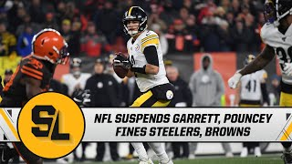 NFL suspends Garrett, Pouncey, fines Steelers & Browns for incident on Thursday | Steelers Live