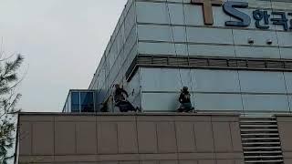 2021.3.27 상암자동차검사소  판넬 외벽청소 작업