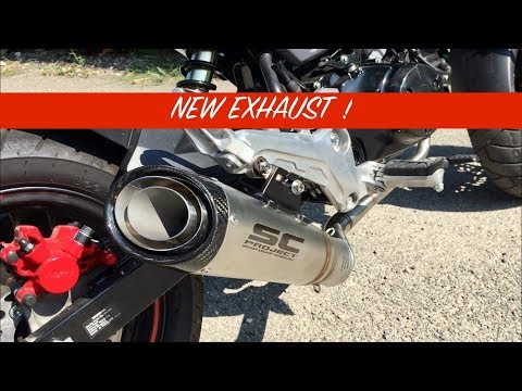 NEW EXHAUST SC PROJECT !!! Honda MSX 125 2017