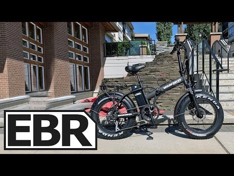 Spark Bikes Spark Mini Review - $1.6k Folding Fat Electric Bicycle