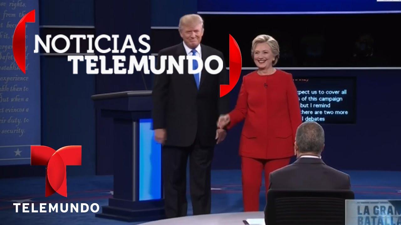 Primer Debate: Fuerte enfrentamiento entre Trump y Clinton por economía | Noticias | Noticias
