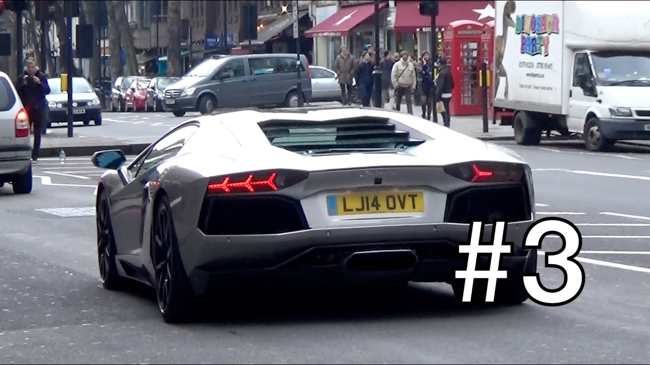 London Supercar Insanity #3 - 918 Spyder, Enzo, 599GTO + More!