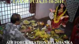 LAXMI PUJA AT SHIV MANDIR OF AIR FORCE STATION  YELAHANKA,KARNATAKA,INDIA, ON (11- 10 -2011)