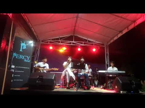 Adera - lebih indah cover by Percy feat irene