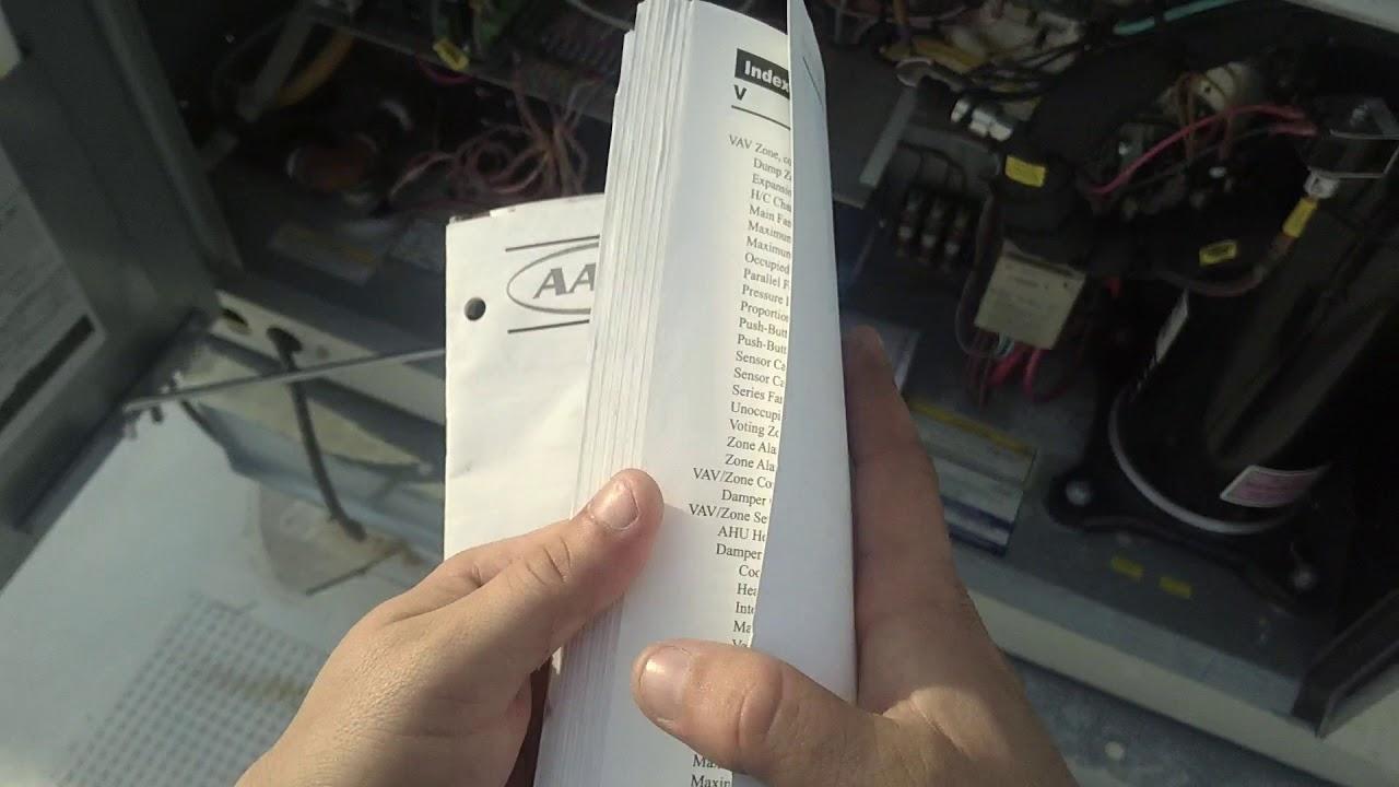 HVAC AAON 5 Ton Trouble Codes. Part 1of2 Aaon Wiring Schematics on