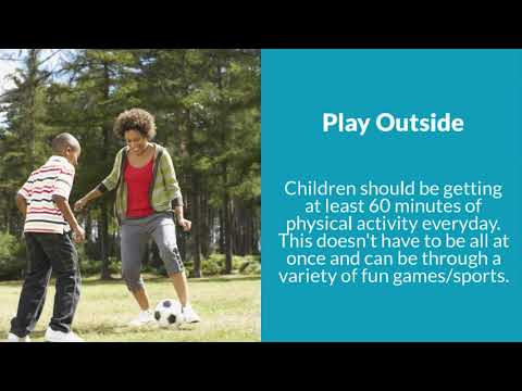 Sunnyside Montessori House of Children - Healthy Lifestyle Tips