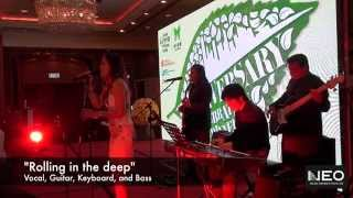 Neo Music Production - Live Music Wedding Band Pop Jazz - JW Marriott Hong Kong