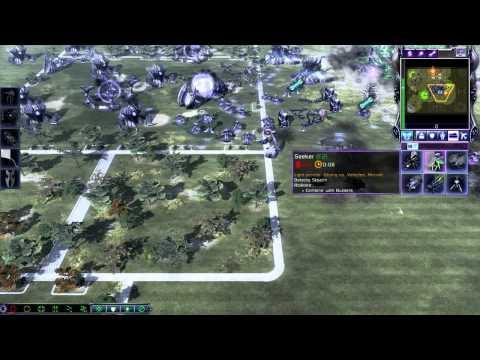 command and conquer 3 tiberium wars scrin ( me ) vs scrin ( brutal ) skirmish match
