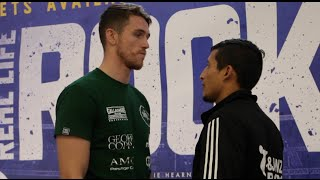 ITS MUNDO TIME! - CALLUM SMITH v CESAR HERNAN REYNOSO - HEAD TO HEAD @ FINAL PRESS CONFERENCE