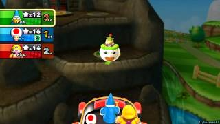 Mario Party 9 ~ Story Mode / Solo - Part 1 ~ Toad Road - Boss: Lakitu/Wiggler