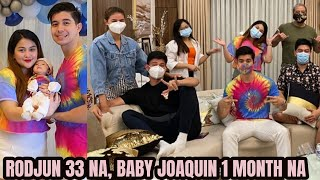 RODJUN Cruz 33rd Birthday DOUBLE CELEBRATION! Baby Joaquin 1 Month Old Na