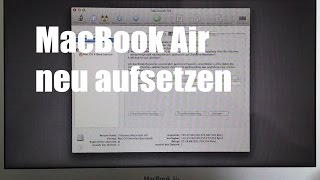 Macbook Air neu aufsetzen