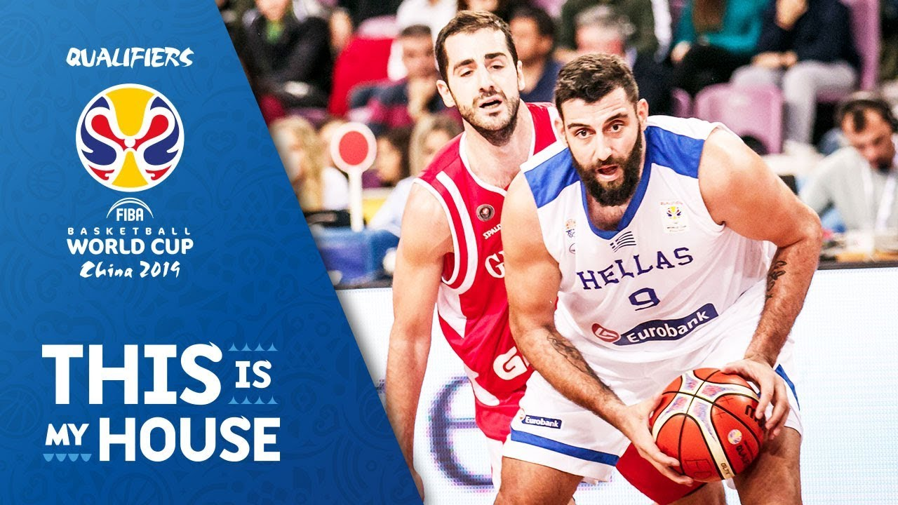 Greece v Georgia - Full Game - FIBA Basketball World Cup 2019
