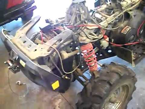 2004 Polaris Sportsman 700 carburetor boot and rough Idle 1 - YouTube