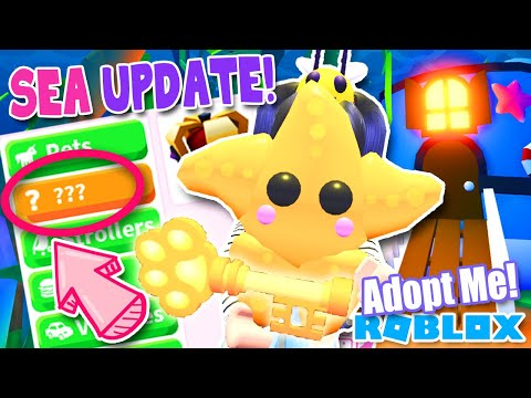 *NEW* 🌊UNDERWATER SEA🌊 PETS UPDATE in ADOPT ME ROBLOX Key Vault