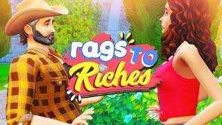 CAN'T BELIEVE HE SAID THAT 😥 // The Sims 4: Rags To Riches #8