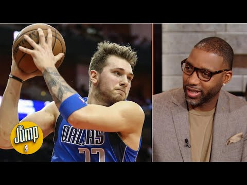 Tracy McGrady can't believe Luka Doncic is averaging 11 boards: 'He can't jump a lick!' | The Jump