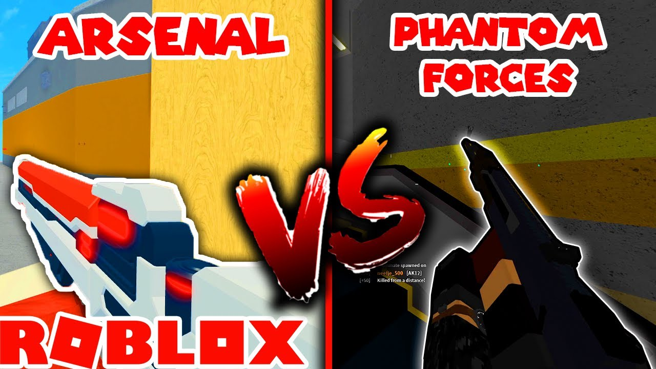 Roblox Phantom Forces Vr Not Working Phantom Forces Vs Arsenal Which Roblox Fps Game Is Better Fpshub
