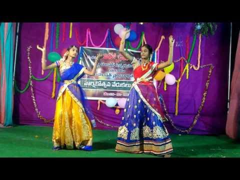 Chandamama okati saradaga by Bindu and Nalini.