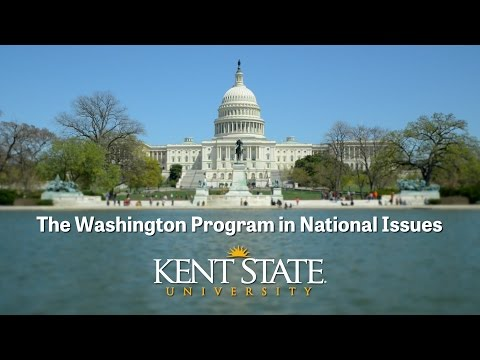 The Washington Program in National Issues at Kent State University