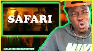 J BALVIN REACTION J Balvin Safari Ft Pharrell Williams BIA Sky MalikVISION LATIN MUSIC