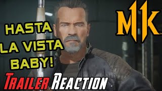 Arnold's Terminator T-800 MK11 - Angry Reaction!