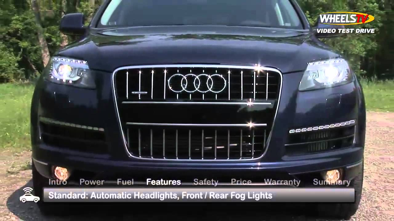 Audi Q7 Test Drive - YouTube