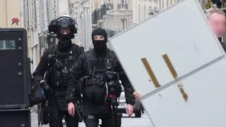 Opération de la BRI : un homme retranché avec sa fille (19 février 2018, Paris)