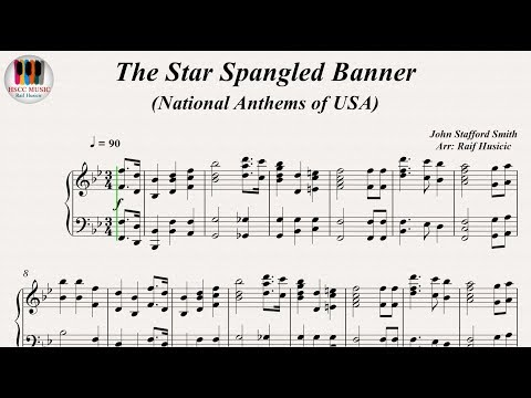 The Star Spangled Banner (National Anthems of USA), Piano