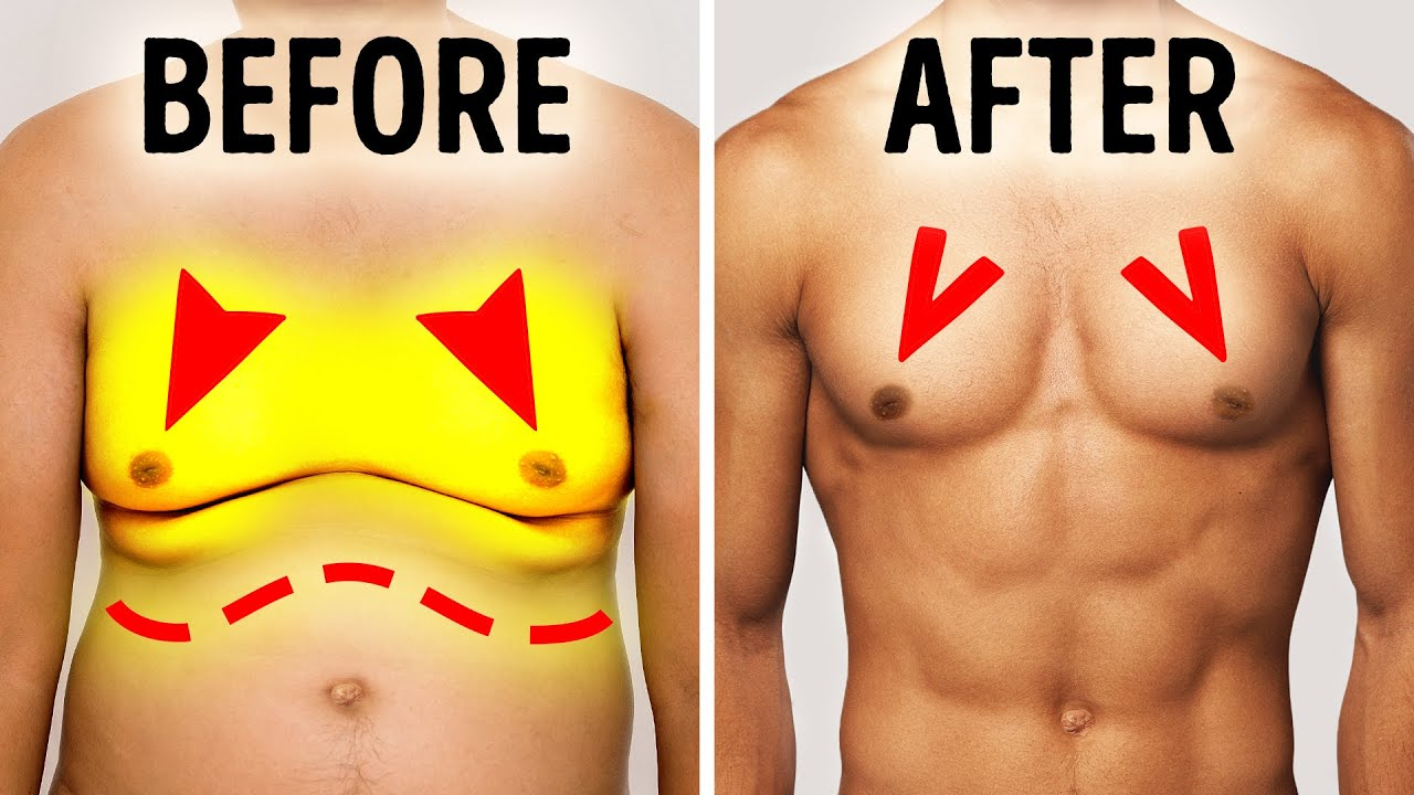 6 Steps to Lose Chest Fat Fast at Home