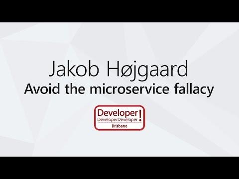 Avoid the microservice fallacy | Jakob Højgaard @DDD Brisbane 2017