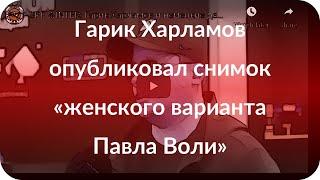 Гарик Харламов опубликовал снимок «женского варианта Павла Воли»