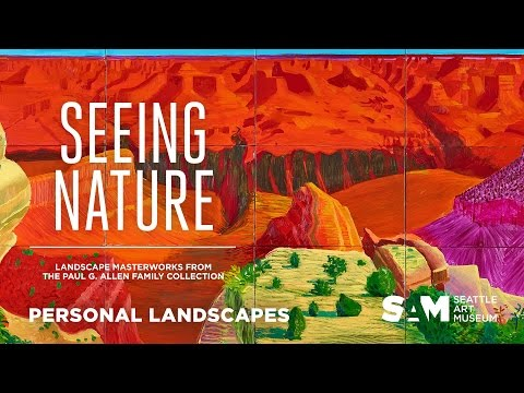"""Personal Landscapes: Phil Levin on David Hockney's """"Grand Canyon"""""""