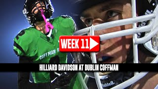 HS Football: Hilliard Davidson at Dublin Coffman [PLAYOFFS] [11/8/14]