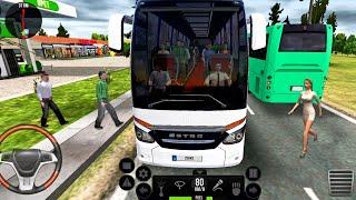 Ultimate Bus Driving Simulator #51 New Bus Setro s517 HDH! Android gameplay